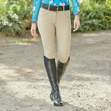 Alexus Breeches by SmartPak - Knee Patch