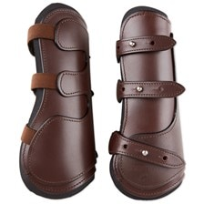 SmartPak Leather Open Front Boots