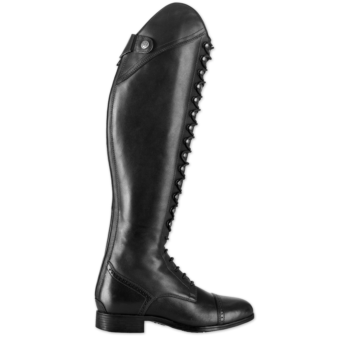 e40ef2f4acc Ariat Capriole Lace Up Dressage Boot - Black