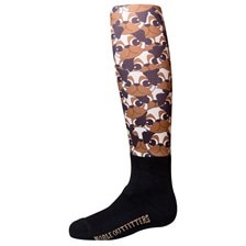Noble Equestrian™ Over the Calf Girls Peddies Boot Sock