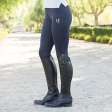 Hadley Tights by SmartPak - Knee Patch
