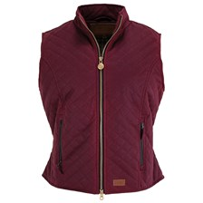 Outback Ladies Quilted Oilskin Waterproof Vest