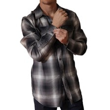 Kimes Ranch Men's Dusted Hombre Flannel Shirt