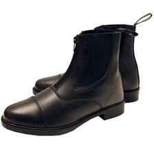 Horseware Kids Zip Leather Short Boot