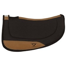 Round Contoured Ranch Pad by Diamond Wool Pads