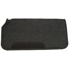 Diamond Wool Felt Pad w/Wear Leathers