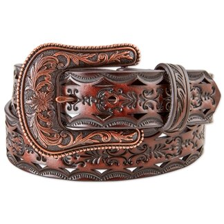 Ariat Women's Distressed Tooled Belt