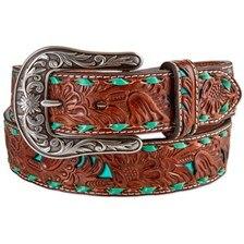 Nocona Women's Turquoise Detail Belt