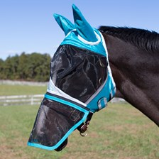 Shires Fine Mesh Fly Mask - Full Face w/ Ears