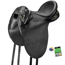 Bates Outback Heritage Leather Saddle w/CAIR