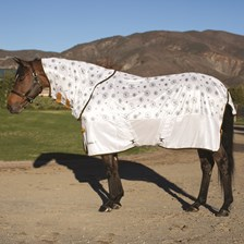 Shires Tempest Fly Sheet Patterned Neck Cover