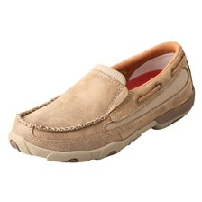 Twisted X Women's Slip-On Driving Moccasins – Bomber