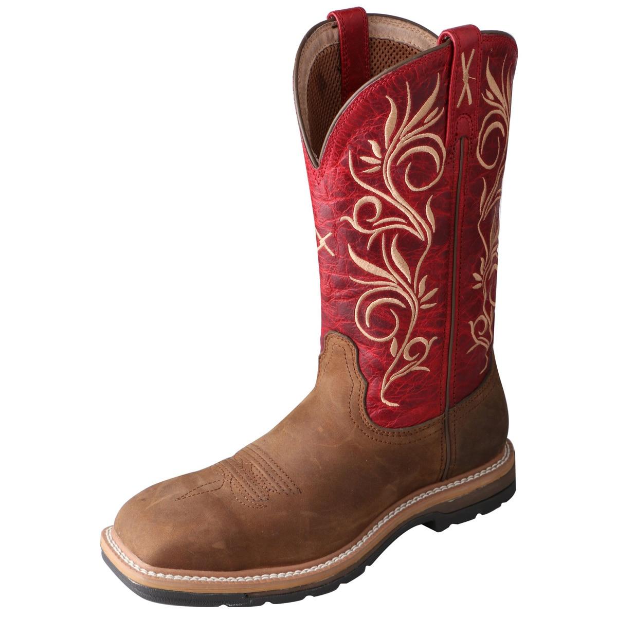 Twisted X Women's Lite Cowboy Work Boots