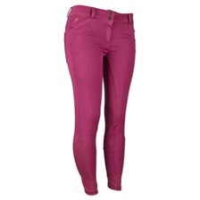 Piper Summer Denim Breeches by SmartPak - Full Seat - Clearance!