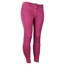 Piper Summer Denim Breeches by SmartPak - Knee Patch