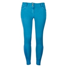 Piper Summer Denim Breeches by SmartPak - Knee Patch - Clearance!