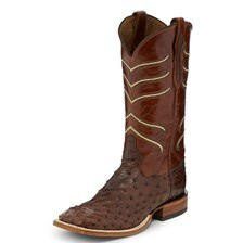 Tony Lama Men's Ostrich Full Quill Boot