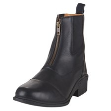 Eliza Zip Front Paddock Boot by SmartPak with FREE Eliza Leather Spur Straps!
