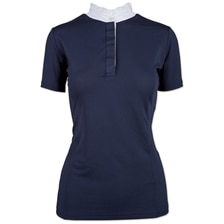 Piper Ruffle Neck Polo Shirt by SmartPak