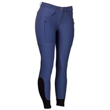 Piper Summer Breeches by SmartPak - Knee Patch