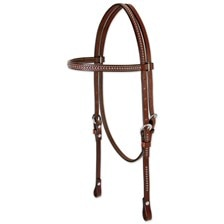 Weaver Leather Pony Headstall with Spots