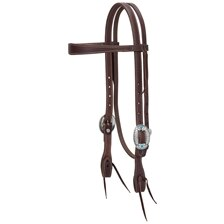 Weaver Working Tack Feather Browband Headstall