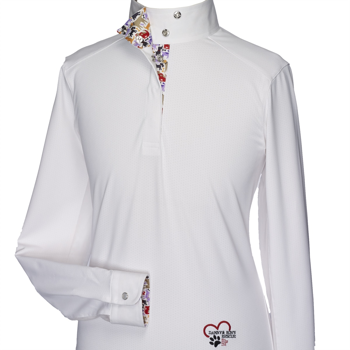 Essex Talent Yarn White Show Shirts