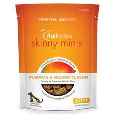 Fruitables Skinny Minis Soft Chew Dog Treats - Pumpkin/Mango