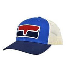 Kimes Ranch Blocked Patch Trucker Hat