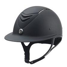 One K Avance Wide Brim Chrome Stripe Helmet