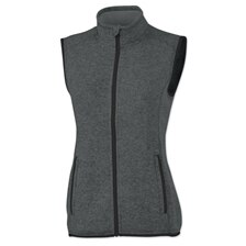 Women's Pacific Heathered Fleece Vest
