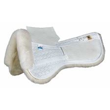 Mattes Gold Correction Half Pad With Pockets for Shims-Dressage