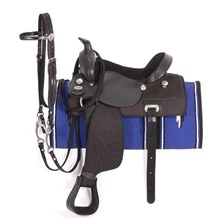 Eclipse by Tough 1 Youth Trail Saddle5 Piece Package
