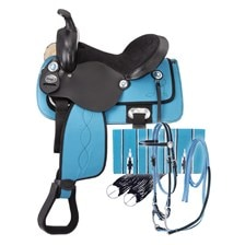 Eclipse by Tough 1 Trail Saddle5 Piece Package - Test Ride Clearance!