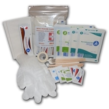 Double Disposable Mini Wound Care Kit