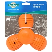 PetSafe Sportsmen Squeak N' Treat Troog Dog Toy