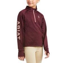 Ariat Girls Tek Team 1/2 Zip Sweatshirt