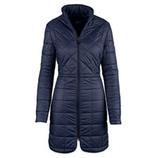 AA Insula Quilted Long Coat