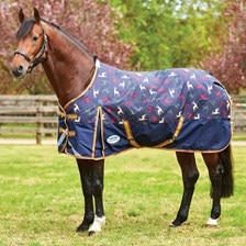 WeatherBeeta ComFiTec Plus Dynamic Turnout Blanket - Patterned - Clearance!