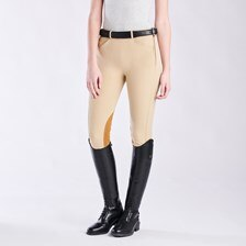 Piper Classic Mid-rise Side Zip Breeches by Smartpak - Knee Patch