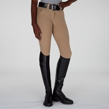 Piper Original Low-rise Silicone Grip Breeches by SmartPak - Knee Patch