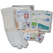 Single Disposable Mini Wound Care Kit