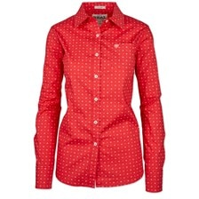 Ariat Women's Kirby Shirt - Coral Thunderbird