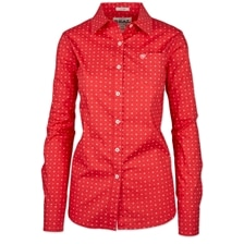 Ariat Women's Kirby Shirt - Coral Thunderbird