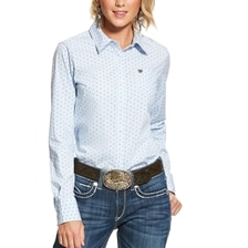 Ariat Women's Kirby Shirt - Aztec Check