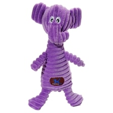 Squeakin' Squiggle Elephant Dog Toy
