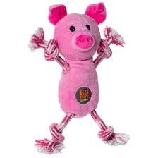 Tugs O Fun Pig Dog Toy