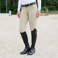 Hadley Show Breeches by SmartPak - Knee Patch