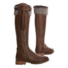 Tredstep Cashel Side Zip H20 Winter Fur Boot