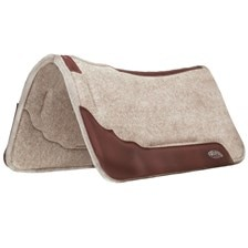 Weaver Synergy™ Contoured Wool Blend Felt Performance Saddle Pad